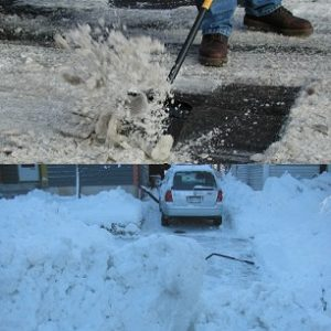 Package B – Monthly Windrow Clearing and 3 Driveway Scrap-Down Subscription (25% Savings!) – $50.00*/month